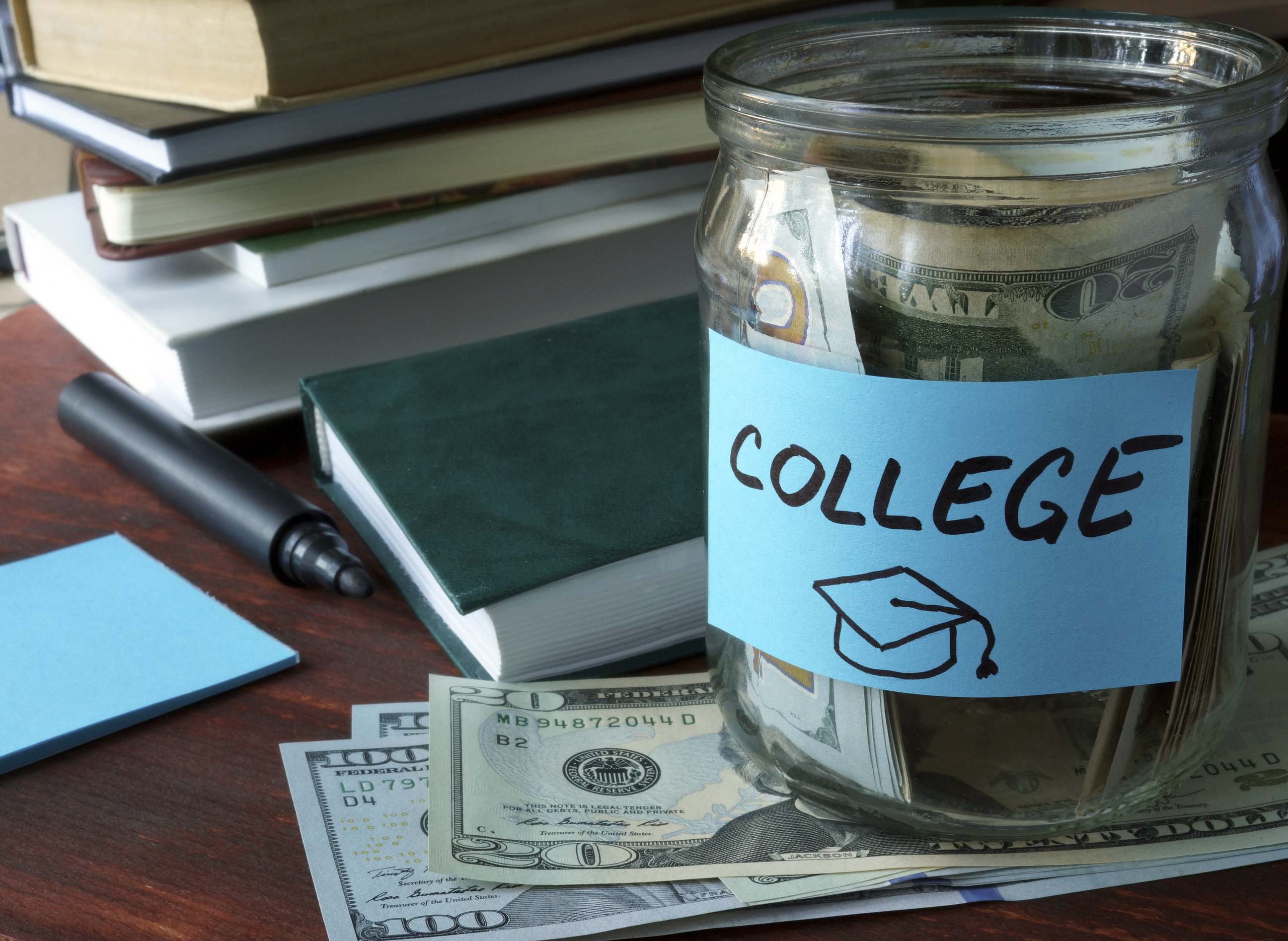 A fund that will help your child when he enters college.